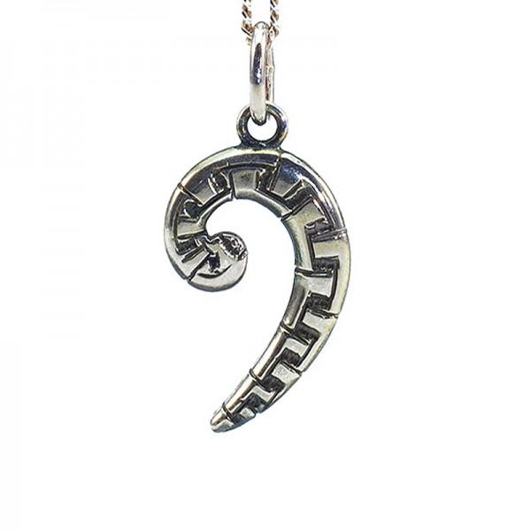 Bass-Schlüssel L Silber