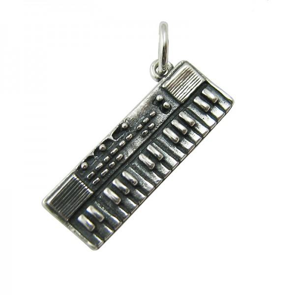 Keyboard Silber